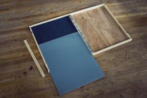 folding palette, installing glass 04