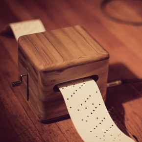 punch-card music box